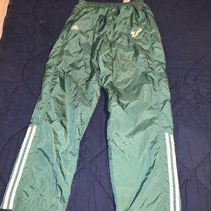Vintage 90s USF Adidas Sweatpants